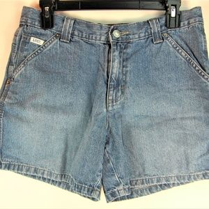 Lee Shorts Size 8M Blue Pre Owned B16